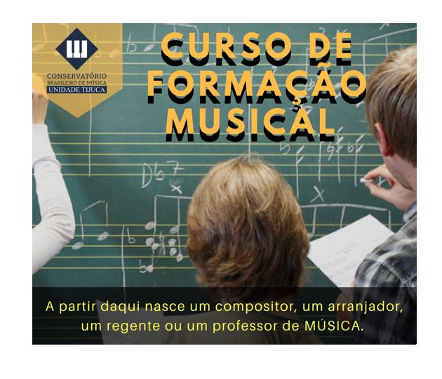 Curso Formação Musical para Jovens e Adultos iniciantes