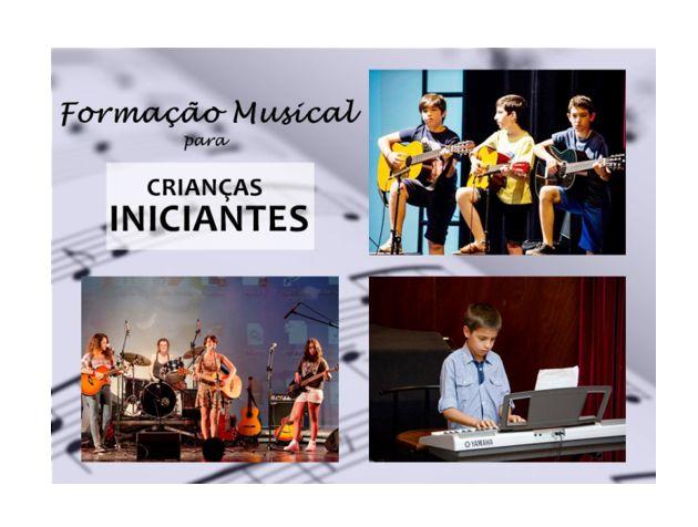 Curso Musical para Crianças iniciantes